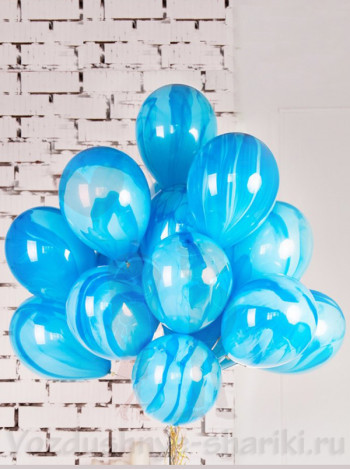Воздушные шары Агат Blue