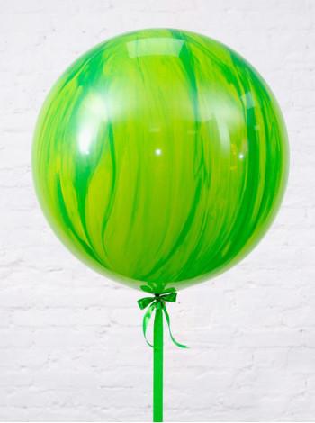 Большой Супер Агат Green