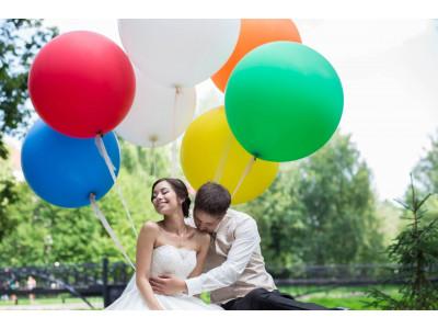 Большие шары: оригинально необычно и незабываемо