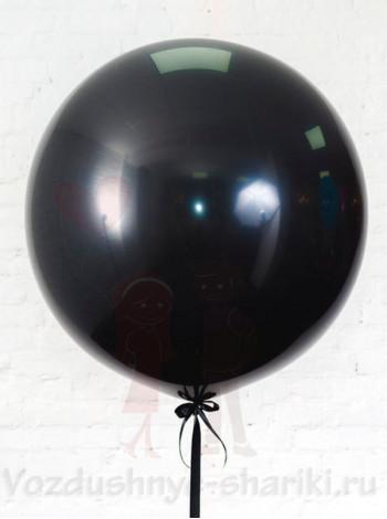 Большой черный воздушный шар
