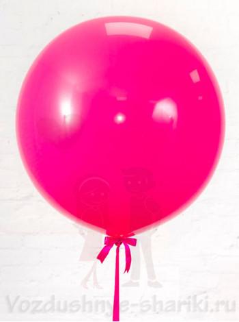 Большой воздушный шар фукси