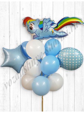 Букет My Little Pony Радуга
