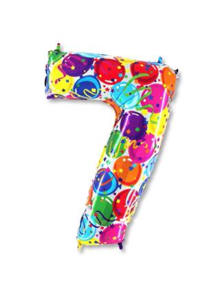 Цифра 7 дизайнерская