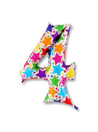 Цифра 4 дизайнерская