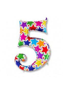 Цифра 5 дизайнерская