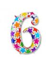 Цифра 6 дизайнерская