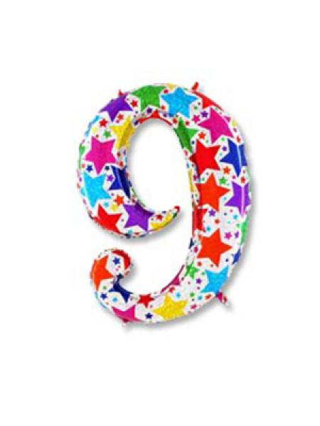 Цифра 9 дизайнерская