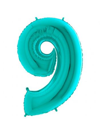 Цифра 9 тиффани