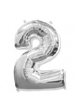 Цифра 2 серебро
