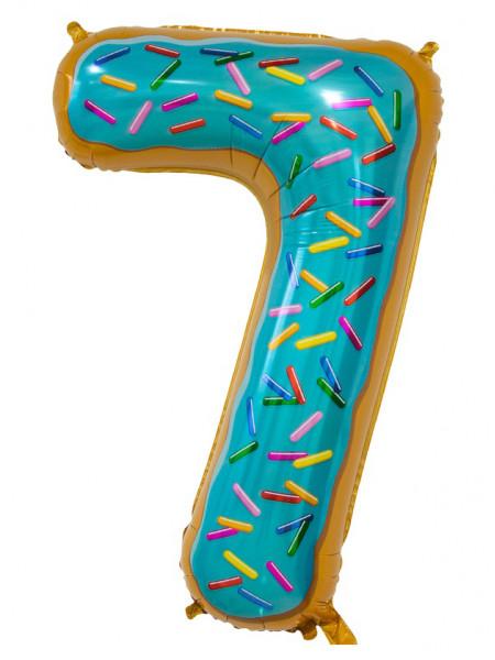 Цифра 7 Пончик