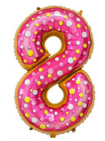 Цифра 8 Пончик
