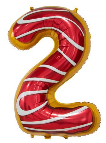 Цифра 2 Пончик