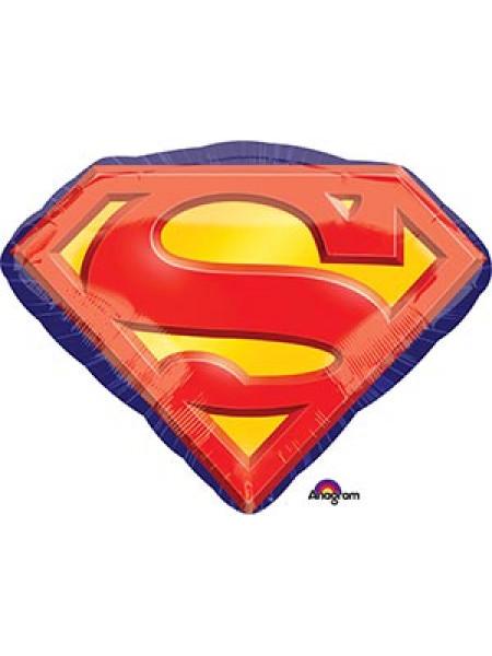 Фольгированная фигура Супермен эмблема