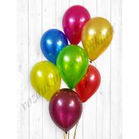 Воздушные шары Ассорти металлик