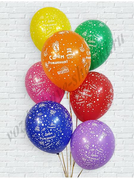 Шары С днем рождения (подарки)