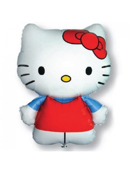 Фольгированная фигура Hello Kitty