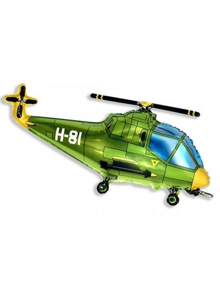 Фольгированная фигура Военный вертолет