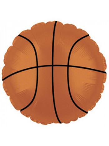Фольгированный круг Баскетбольный мяч