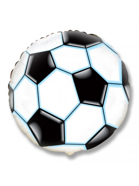 Фольгированный круг Футбольный мяч