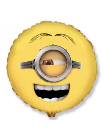 Фольгированный круг Миньон Стюарт
