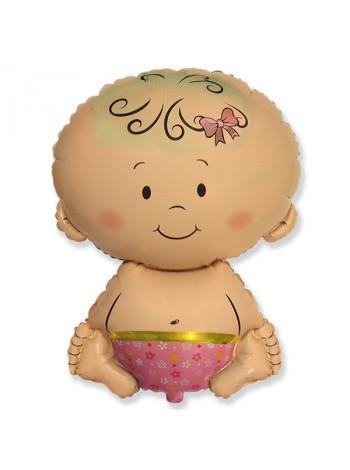 Фольгированная фигура Малышка
