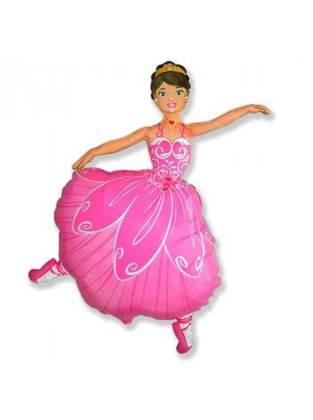 Фольгированная фигура Балерина