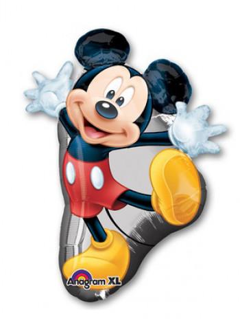 Фольгированная фигура Микки танцующий