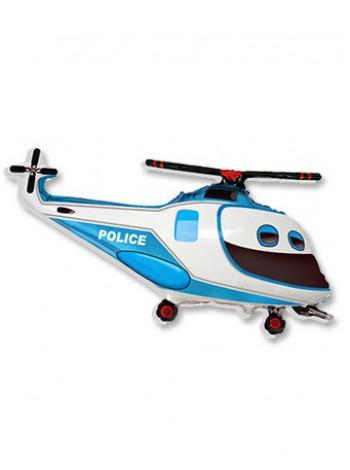 Фольгированная фигура Вертолет Полиция