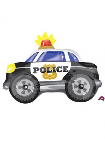 Фольгированная фигура Машина Полиция