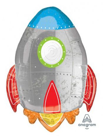 Фольгированная фигура Ракета