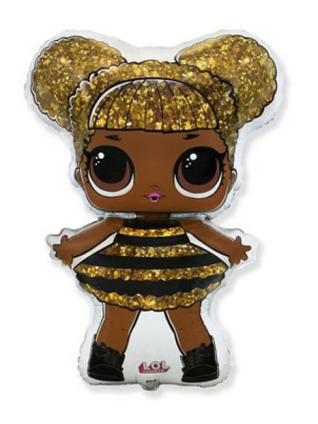 Фольгированная фигура Куклы ЛОЛ QUEEN BEE
