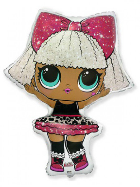 Фольгированная фигура Куклы ЛОЛ DIVA