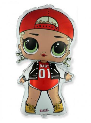 Фольгированная фигура Куклы ЛОЛ MC SWAG