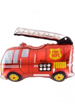 Фольгированная фигура Пожарная машина