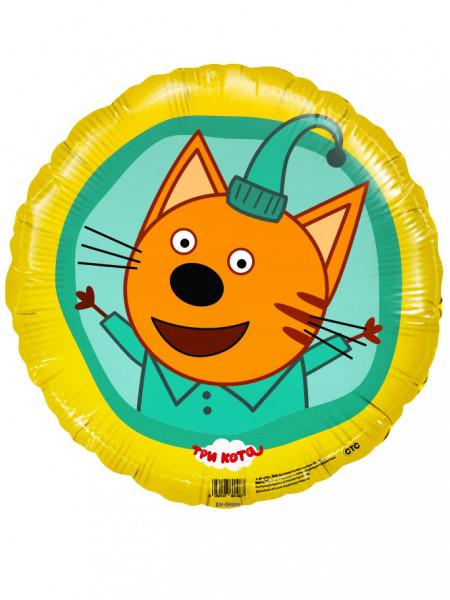 Фольгированный круг Три Кота, Компот