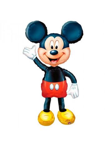 Ходячая фигура из фольги Микки Маус