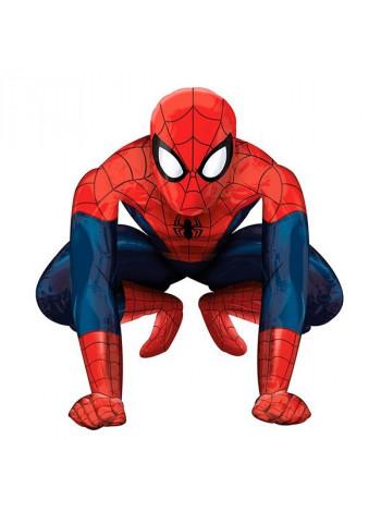 Ходячая фигура из фольги Человек-Паук