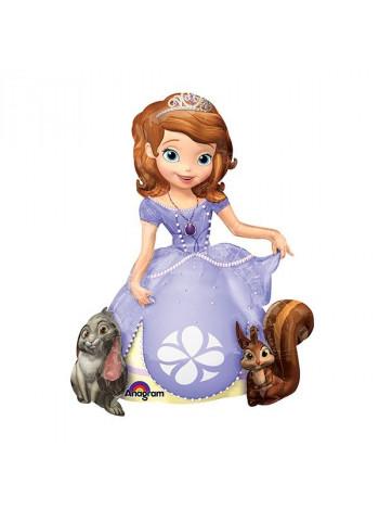 Ходячая фигура из фольги Принцесса София