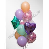 Воздушные шары - композиция №1