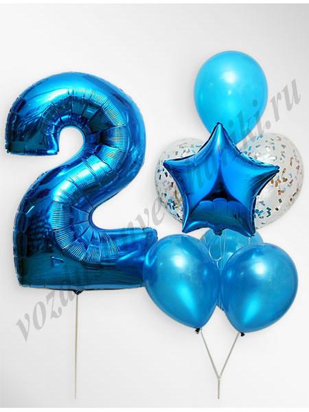 Воздушные шары - композиция №10