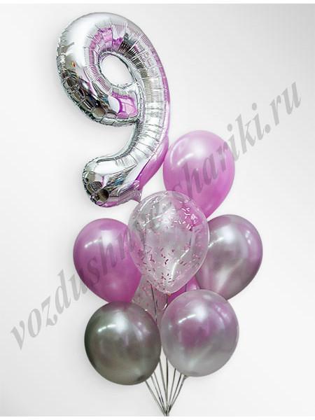 Воздушные шары - композиция №19