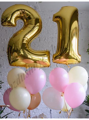 Воздушные шары - композиция №34
