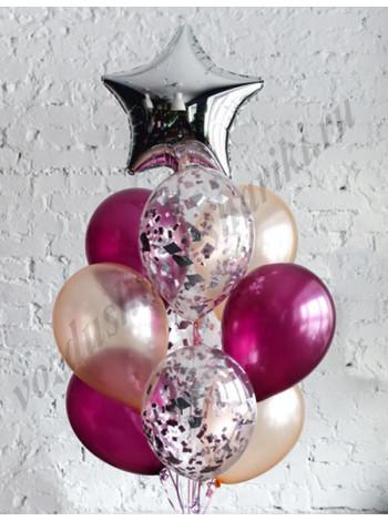 Воздушные шары - композиция №37