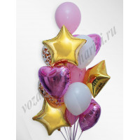 Воздушные шары - композиция №4