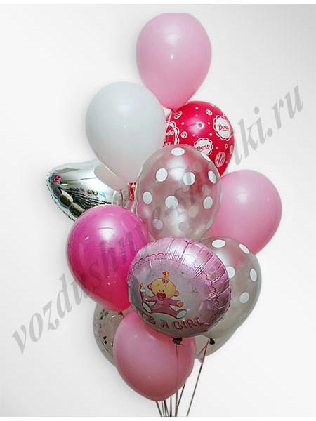 Воздушные шары - композиция №22