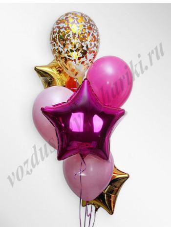 Воздушные шары - композиция №11