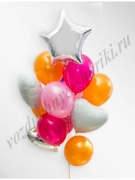 Воздушные шары - композиция №30