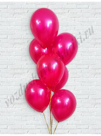 Воздушные шары фуше металлик
