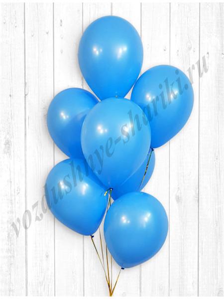 Голубые шары